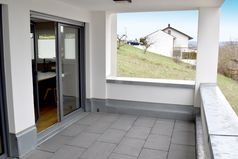 Business-Apartment 02 Erlenbach Terrasse