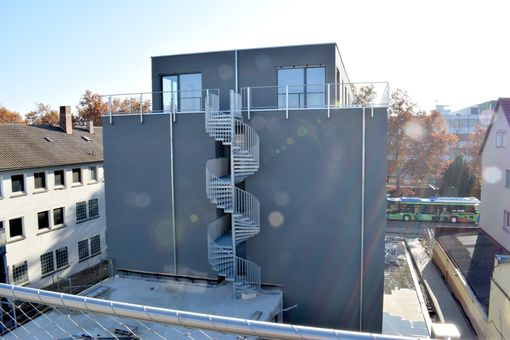 City-Apartment Heilbronn Block A Penthouse-Wohnung